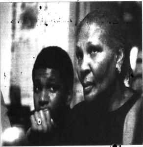 Norma Watts and Allen Evans