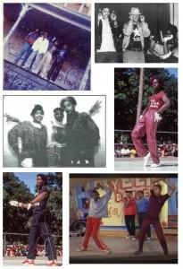 Collage of Hfd Hip Hop pioneers