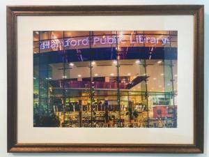 HPL 125 sig image framed